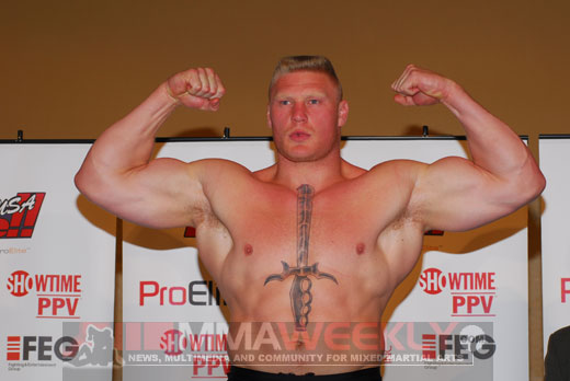Brock Lesnar is a beast!